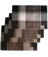 Blockbuster Quarry Placemats Set of 4 Black Brown Park B Smith Farmhouse... - $24.74