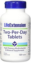 Life Extension Two Per Day Tablets, 120 Count - $21.44