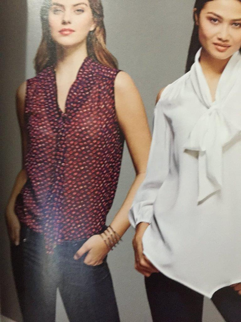 Simplicity Sewing Pattern 8131 Ladies Misses Pullover Blouse Size 6-14 New