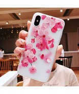 3d Flower Silicone Phone Case For Xiaomi Redmi (3d Relief Flower 3) - $10.99+