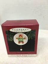 1993 Hallmark Snow Bear Angel Christmas Tree Ornament MIB w Price Tag H1 - $12.38