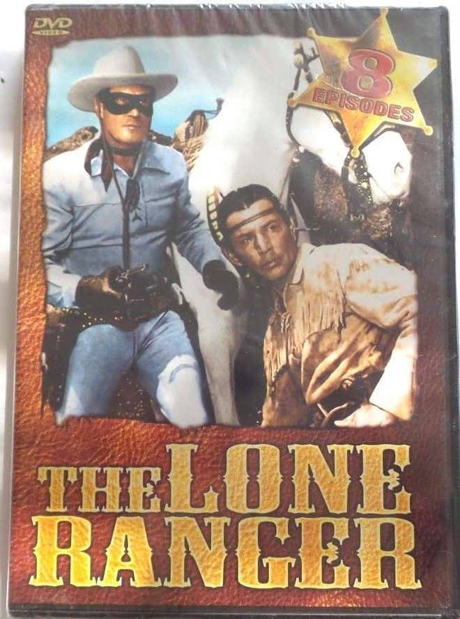 Primary image for The Lone Ranger (DVD, 2005) 8 Episodes - Usually ships within 12 hours!!!