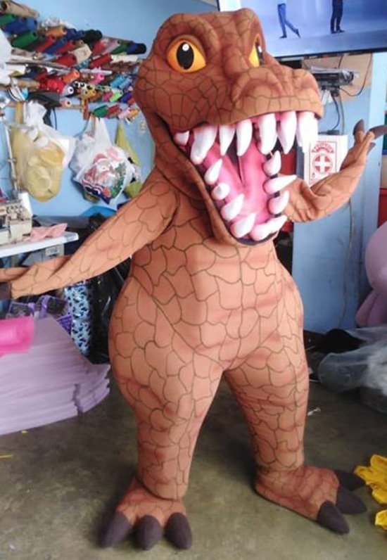 T-Rex Dinosaur Mascot Costume Adult Tyrannosaurus Costume For Sale