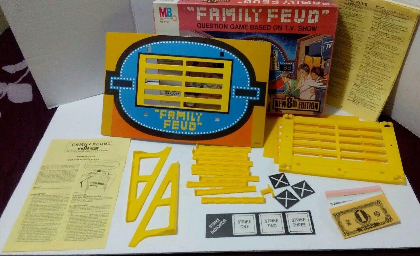 Vintage 1985 Milton Bradley Family Feud 8th and 50 similar items