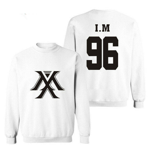 2018 Kpop MONSTA X Sweatershirt THE CLAN 2.5 Part.1 LOST Pullover  I.M