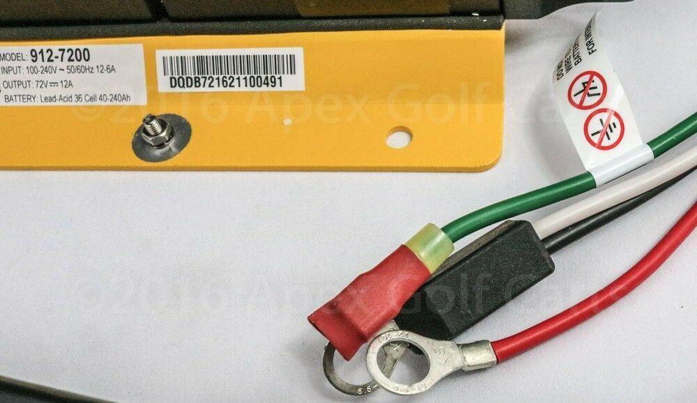 Delta Q Quiq Caricabatterie 72 Volt/12 Amp Polaris Gemma Auto 912-7200 Chrysler