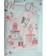 PAPER CRAFT Mother's Day Large Hand Crafted Card Code MAVE - $4.92
