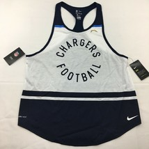 Nike Los Angeles Chargers Football Racerback Tank Top Women's Size L NFL SD - $24.70