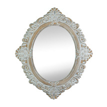 Wall Mirror Large, Ornate Art Decorative Round Mirror Walls For Bedroom(taupe) - $46.33