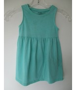 Old Navy Girl's Size 2T Years Cotton Solid Blue Sleeveless Dress - $20.00