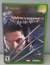 Wolverine's Revenge Xbox Video Game Tested No Manual - $7.35