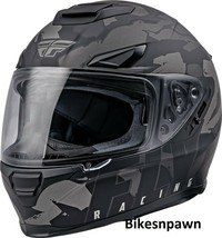 2XL Fly Racing Sentinel Ambush Motorcycle Helmet Camo/Grey/Black DOT & ECE  image 1