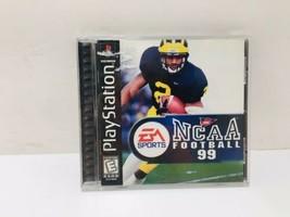 Ncaa Football 99 (Play Station PS1, 1998) Cib [Tested] Ea Sports Rare! Mint! - $42.74
