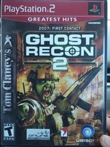Tom Clancy's Ghost Recon Video Game On PlayStation 2 - $13.09