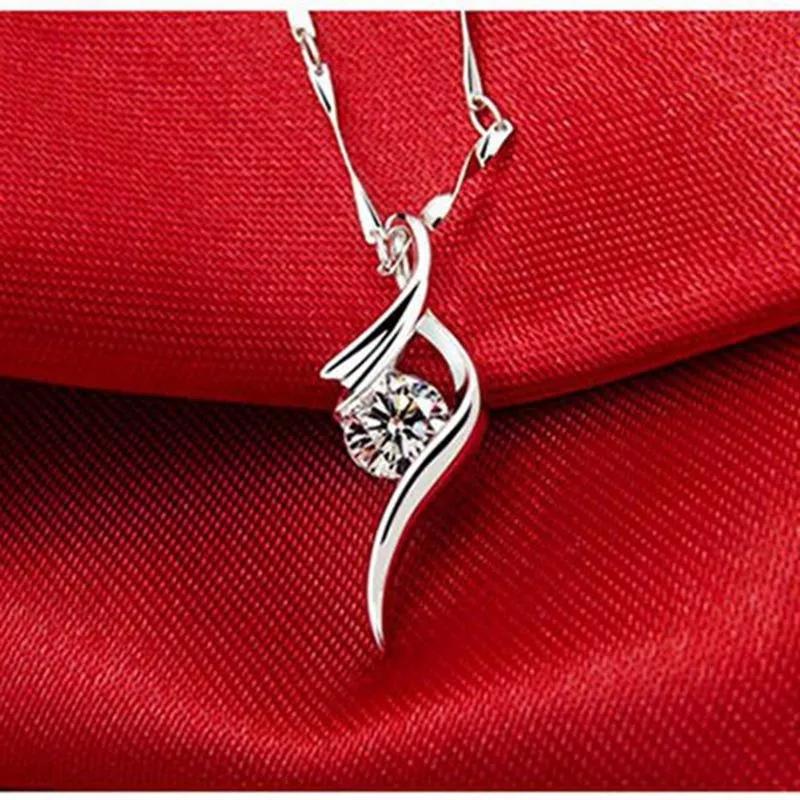 Collar De Plata Sterling Silver Pendant Necklace