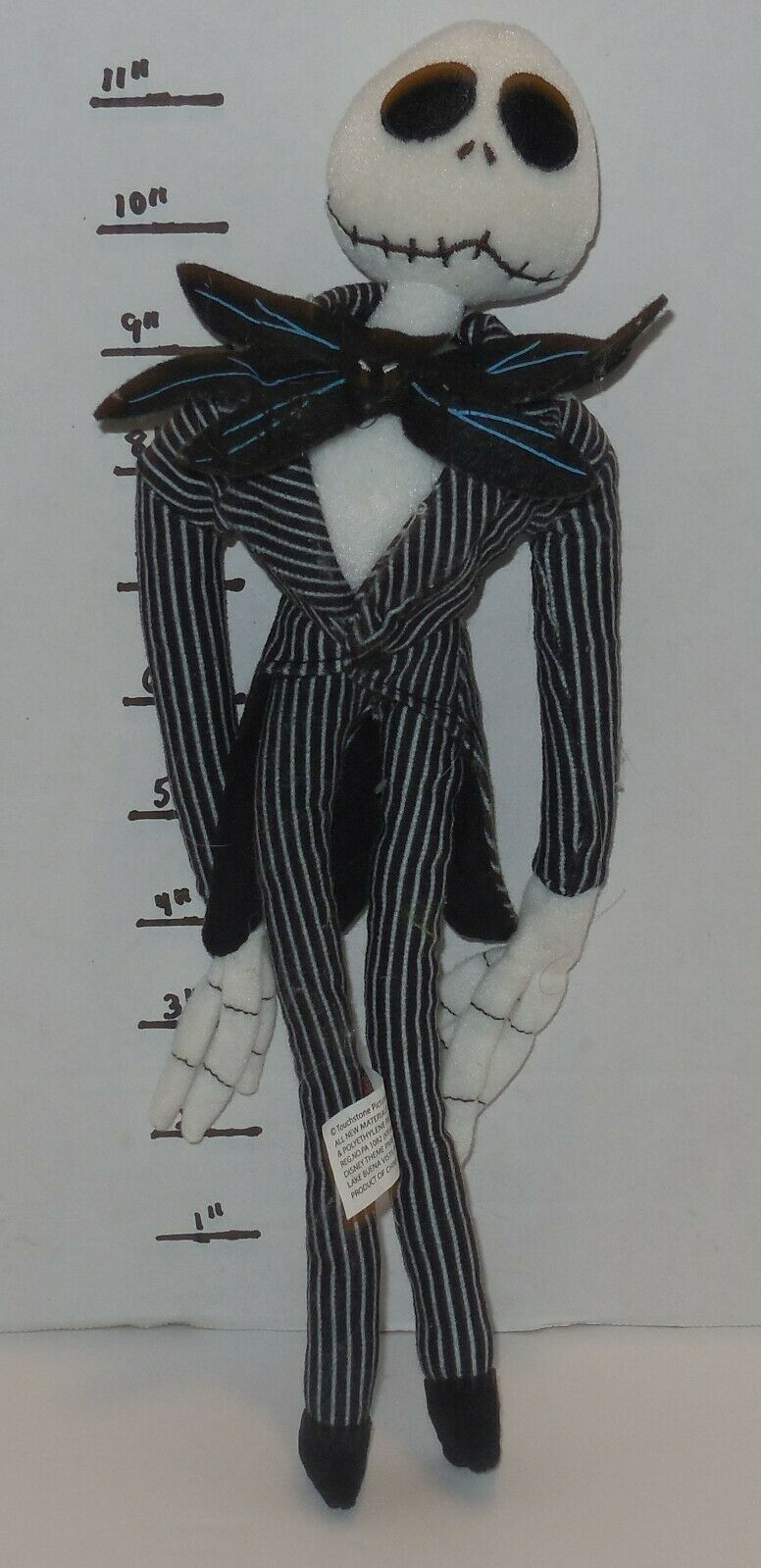 Primary image for Disney Parks Nightmare before Christmas Jack Skeleton PLUSH DOLL 11""