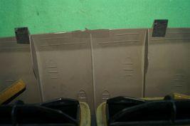 07-12 Nissan Versa Center Upper Dash Vent Bezel Trim Panel Tan/Brown image 9