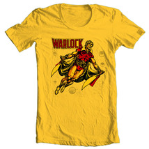 Adam Warlock T-shirt Bronze Age comic book Free Shipping distressed 100% cotton image 2
