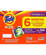 Tide PODS Laundry Detergent, Spring Meadow, 168 ct - $65.55