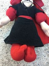 "Aladdin Jafar Plush Beanbag 8"" Disney Store Villain Figure Stuffed Doll Toy image 3"