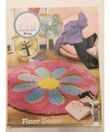 Ellie Mae Sewing Pattern K119 Round Rugs Child Baby Nursery Appliques Uncut - $8.99