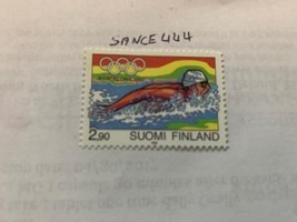 Finland Olympics Barcelona 2.90 mnh 1992  stamps - $1.20