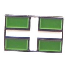 Devonshire Devon Flag Metal Enamel Lapel Pin Badge Lapel /tie Pin Badge