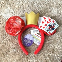 Tokyo Disney Sea 35th 2018 Halloween Queen of Hearts Headband Alice Hair... - $58.41
