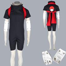 Naruto Uchiha Sasuke Halloween anime cosplay costume mens suit - $35.93