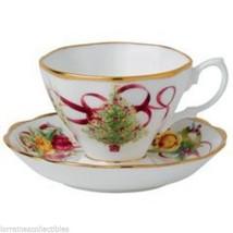 Royal Albert  Old Country Roses Christmas Tree Teacup & Saucer Set NIB (s) - $39.59