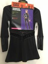 Girls Costume Warrior Huntress Black Sz Medium 8 To 10 Youth Renaissance $35VAL - $16.09