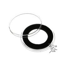 Presidential Dollar Coin Capsules, Air-Tite Holders 26mm Black Ring, 10 ... - $9.95