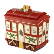 Spode Christmas Tree 2019 Cookie Train Car with Lid - $144.00