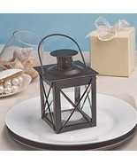 Luminous Black Mini-Lantern Tea Light Holder - Baby Shower Gifts & Weddi... - $160.05