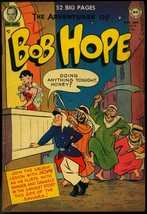 ADVENTURES OF BOB HOPE #10 1951-DC-FOREIGN LEGION-ARABS VG - $113.49