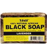 Taha 100% Natural African Black Soap with Lavender 5oz - $6.88