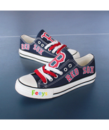 boston red sox shoes womens red sox sneakers baseball blue fashion birth... - $59.99