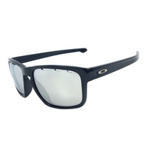Oakley Sliver Vented Sunglasses OO9269-1257 Polished Black | Chrome Iridium Lens - $84.14