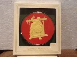 Hallmark Keepsake Ornament - Norman Rockwell #3 Cameo  - 1982 - QX305-3 - $5.95