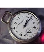 Vintage Ingraham Biltmore Pocket Watch for Parts or repair - $19.75