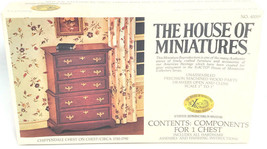 The House of Miniatures Precision Machined Wood Parts Chippendale Chest ... - $15.99