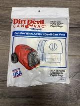 NEW Genuine Dirt Devil Vacuum Bags Type F 3 Bags - $5.50