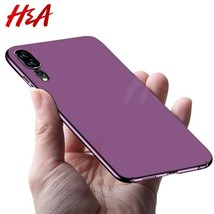 H&A Luxury Hard PC Phone Case For Huawei P20 Lite P20 Pro Ultra-thin Matte - $5.77