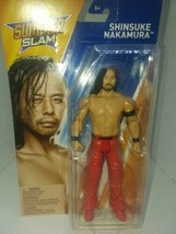 WWE WRESTLING SUMMER SLAM SERIES SUPERSTAR WRESTLER SHINSUKE NAKAMURA MA... - $19.99