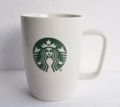2018 Starbucks Coffee Mermaid Siren Classic Logo Mug 10.8 oz. White Cera... - $29.91
