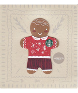 Starbucks 2018 Gingerbread Man Collectible Gift Card New No Value - $4.99