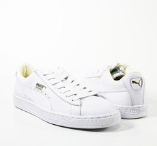 PUMA White Basket Classic Sneakers - $35.00
