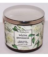 WONDERFUL BATH & BODY WORKS WHITE GARDENIA 3-WICK SCENTED 14.5 OZ CANDLE - $21.03