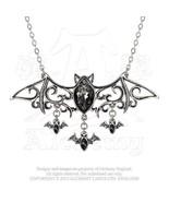 SteamPunk Victorian Alchemy Gothic Pewter Viennese Nights Necklace, NEW ... - $48.37