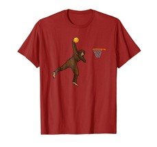 Halloween Shirts -  Basketball Dunking Dabbing BigFoot Funny Sasquatch TShirt Me - $19.95+